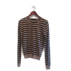NWOT Rachel Mara Striped Cardigan size Medium